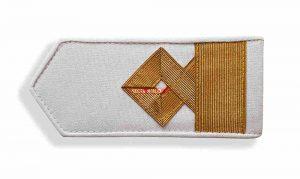 Погоны морского флота белые, 10 категория. (зам начальника судоходной компании)