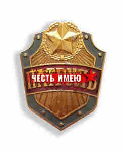Нагрудный знак металлический ПАТРУЛЬ