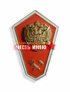 """Значок металлический """"гробик"""", средне техническое образование. (оранжевый)"""