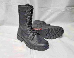 Ботинки-Берцы ДОФ-Стилет 5021/2 ZA РП. Чёрные. (с мехом)