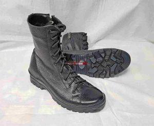 Ботинки-Берцы BIZON-ВЕНДЕТТА-1 Арт. В-14. Чёрные