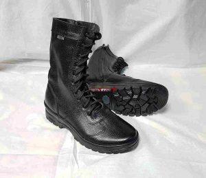Ботинки-Берцы BIZON-Утка. У-20. Милитари-3. Чёрные