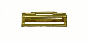 Петля латунная, ответная часть бляхи для солдатского ремня