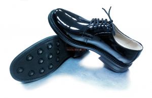 Туфли Лакированные, Кожаные, Чёрные ВМФ