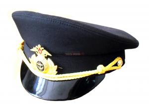 Фуражка чёрная, офисная ВМФ
