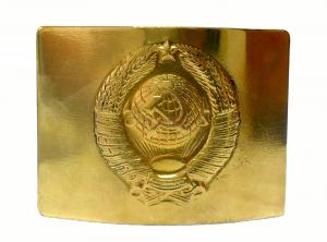 Бляха на Солдатский ремень латунная Герб СССР