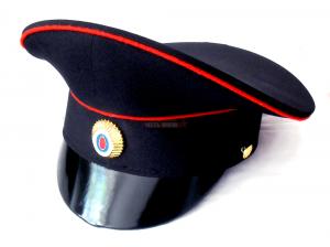 Фуражка Тёмно-Синяя Полиция Простая