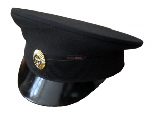 Фуражка чёрная, офисная ВМФ без канта