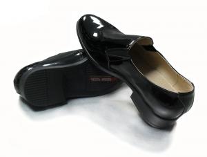Туфли лакированные 55, чёрные