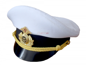 Фуражка белая офисная ВМФ