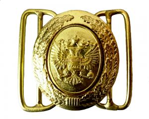 Пряжка на Парадный Офицерский Ремень составная РФ