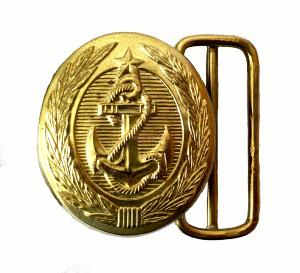 Пряжка на Парадный Офицерский Ремень ВМФ - СССР