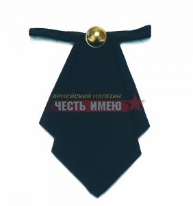 Галстук-Бант женский, Серо-Синий ФСИН